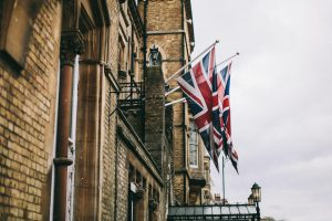 VE Day Union Jack flags