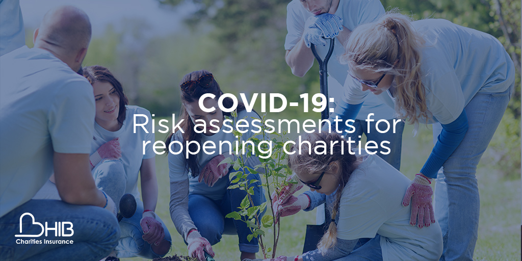 risk assessments for charities