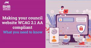 WCAG 2.1AA compliance for councils