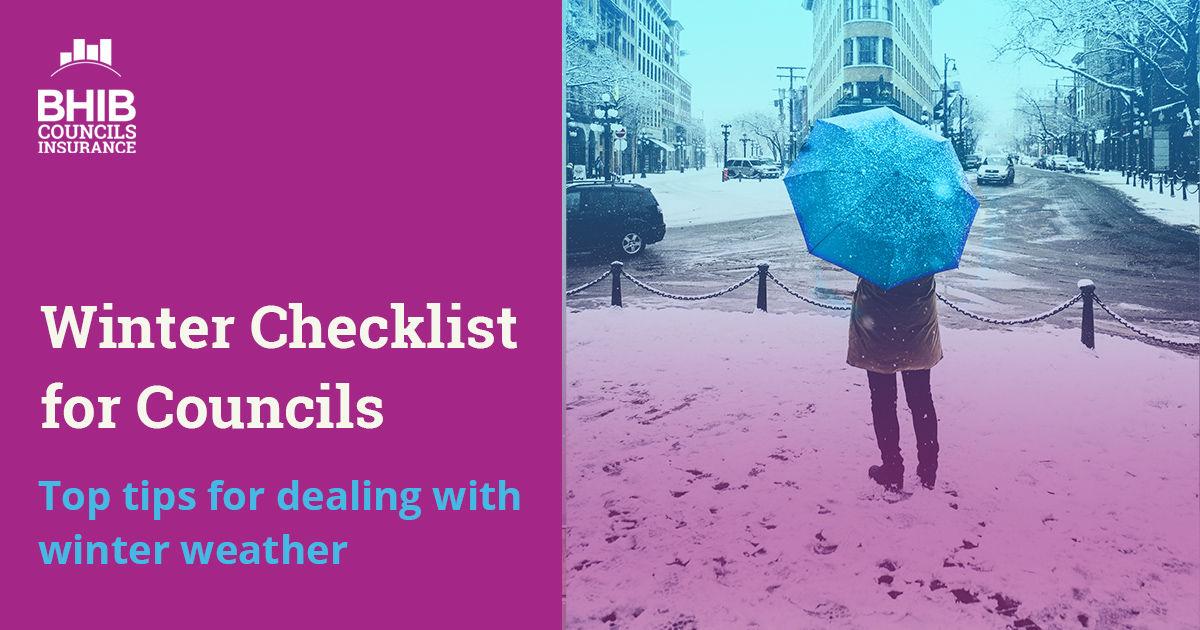 Winter Checklist for Councils