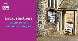 Local elections COVID-19 risk assessment