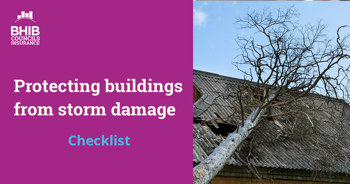 Storm damage checklist