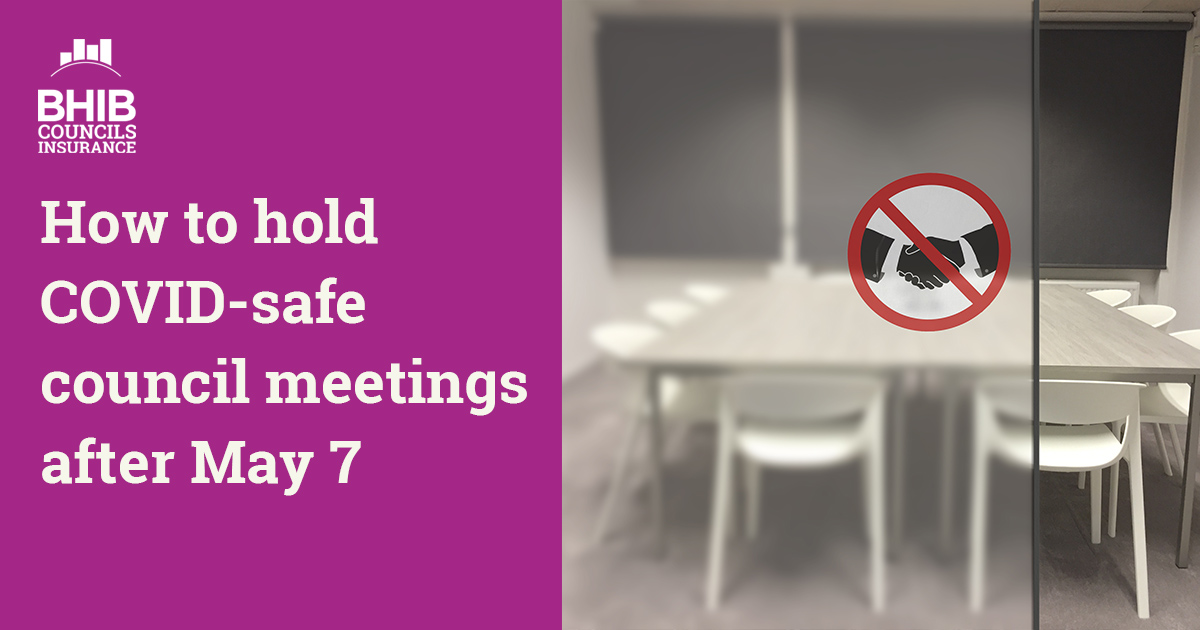 Council meetings covid checklist